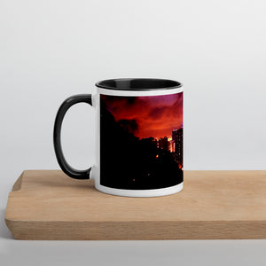 Hong Kong Nightscape Mug with Color Inside - Tracy McCrackin Photography