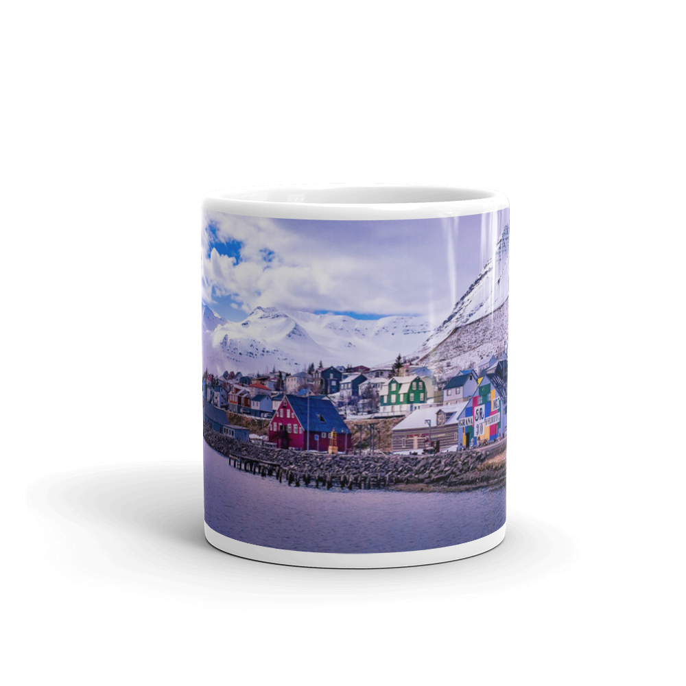 Icelandic Village by the Bay Mug - Tracy McCrackin Photography