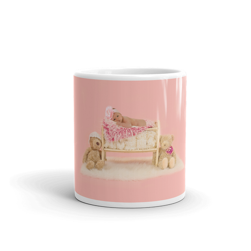 Sleeping Baby Mug - Tracy McCrackin Photography