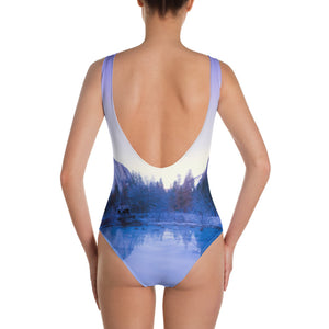 Blue Mountains One-Piece Swimsuit - Tracy McCrackin Photography