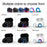 TWS True Wireless Earphone Cordless Earbuds with Charging box,merchantvikings