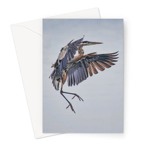 Sticking the Landing Greeting Card