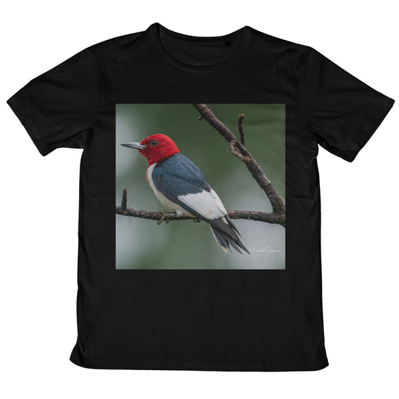 Red-headed Woodpecker on a Stick Mens Retail T-Shirt