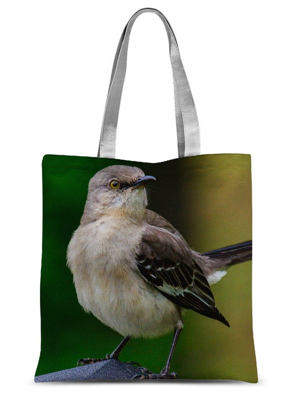 A Fierce Yellow Eye Sublimation Tote Bag