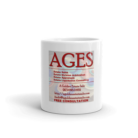 AGES: A Golden Estate Sale Mug | Coffee Cup