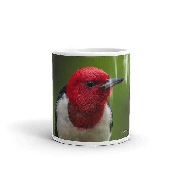 Red-headed Woodpecker Mug - Red-headed Woodpecker Coffee Cup