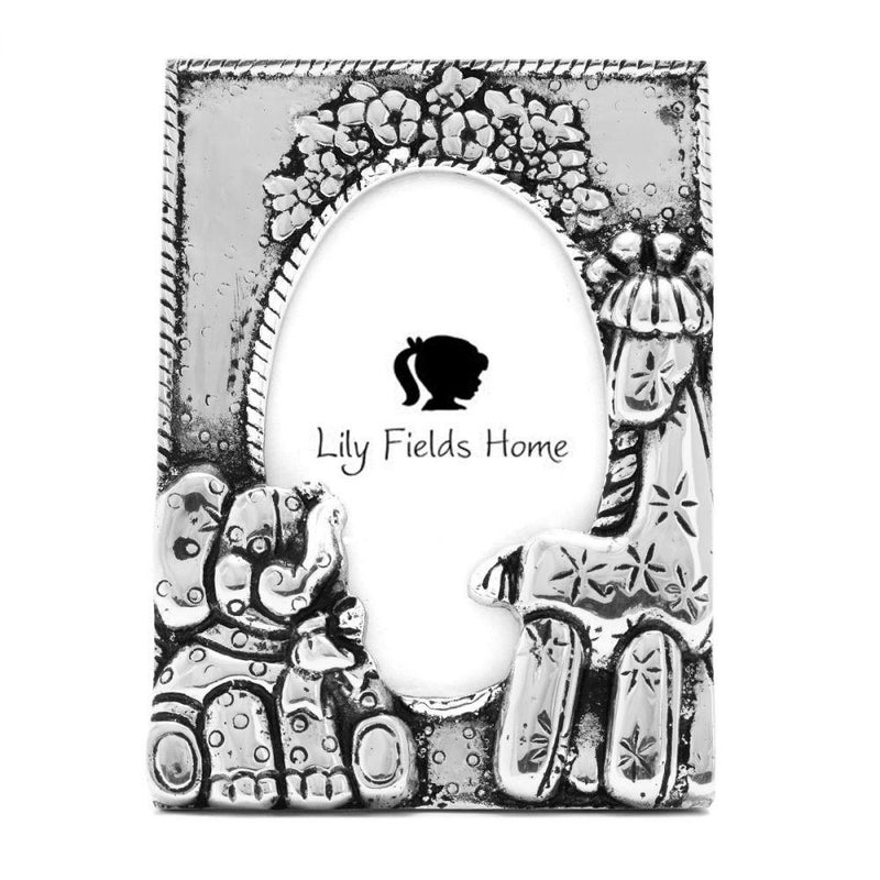 ELEPHANT & GIRAFFE FRAME - Lily Fields Home