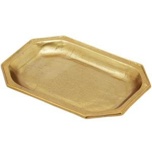 GILDED TEXTURED TRAY