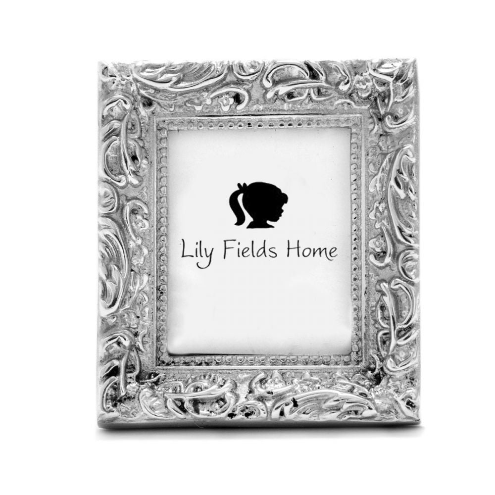 ORNATE W/ BEADED CENTER FRAME - Lily Fields Home