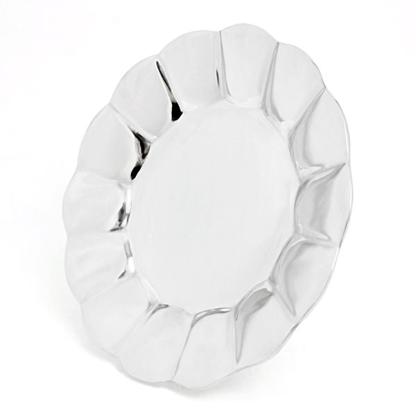 FLUTED ROUND PLATES - Lily Fields Home