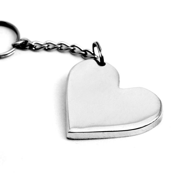 HEART KEYCHAIN - Lily Fields Home