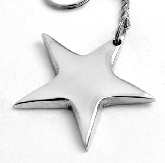 STAR KEY CHAIN - Lily Fields Home