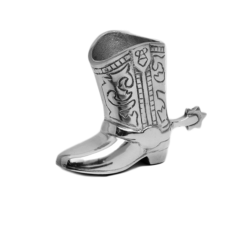SM COWBOY BOOT PEN HOLDER - Lily Fields Home