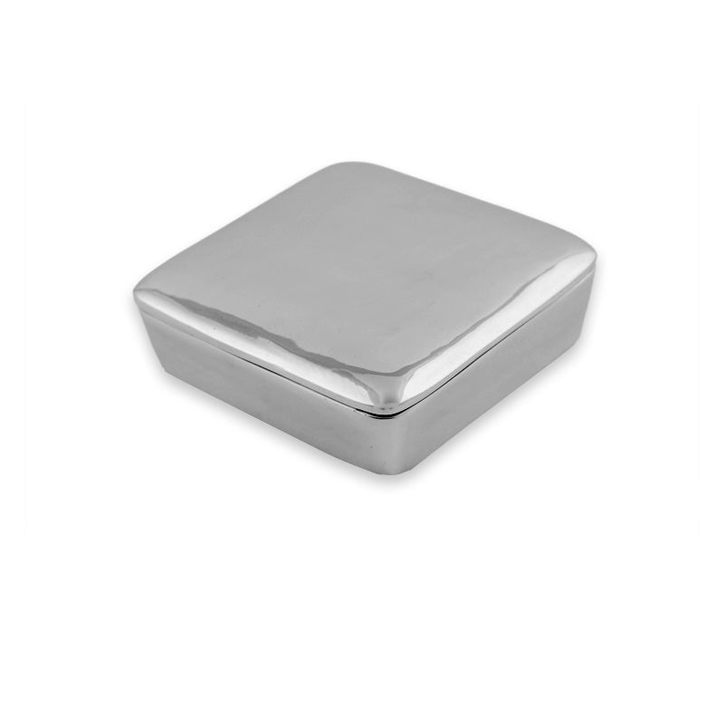 LG SQUARE BOX W/ LID - Lily Fields Home