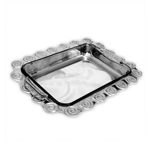 LG RECTANGLE SWIRL CASSEROLE HOLDER - Lily Fields Home