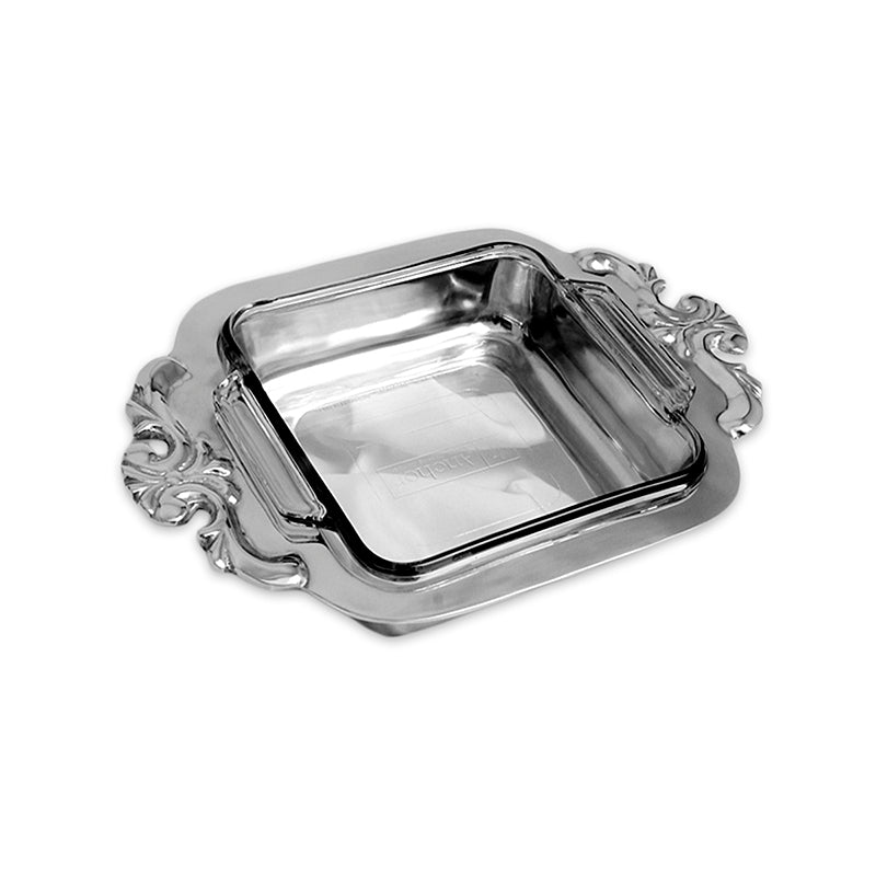 SQUARE ORNATE CASSEROLE HOLDER - Lily Fields Home