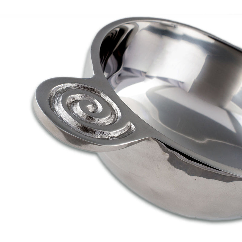SWIRL BOWL W/ SPOON - Lily Fields Home