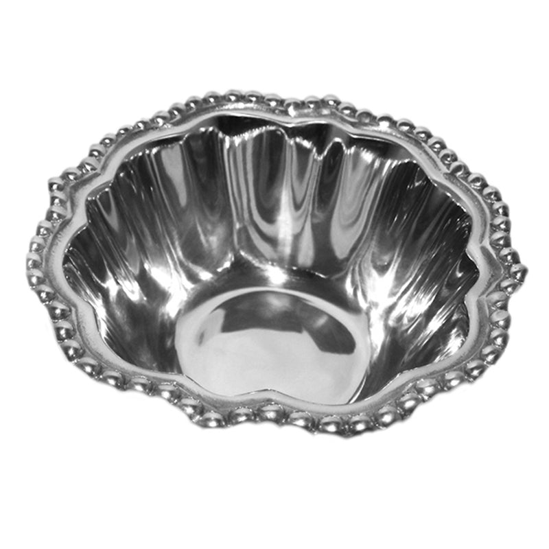 SM WAVY BEADED EDGE BOWL - Lily Fields Home