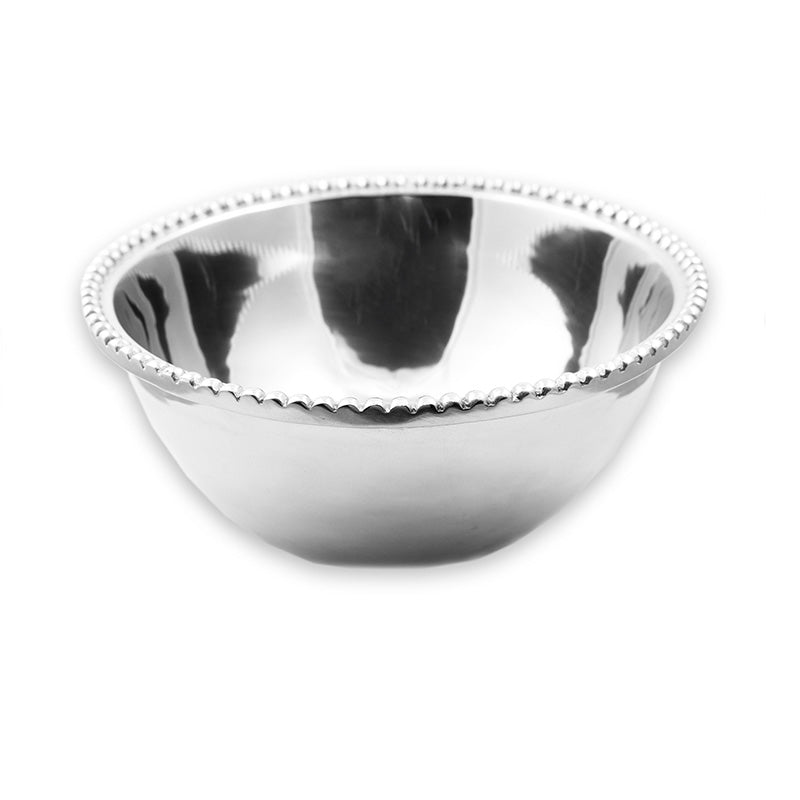 LG BEADED RIM BOWL - Lily Fields Home