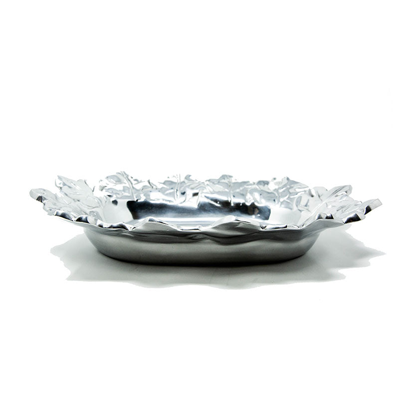 OVAL HARVEST LEAF TRAY - Lily Fields Home