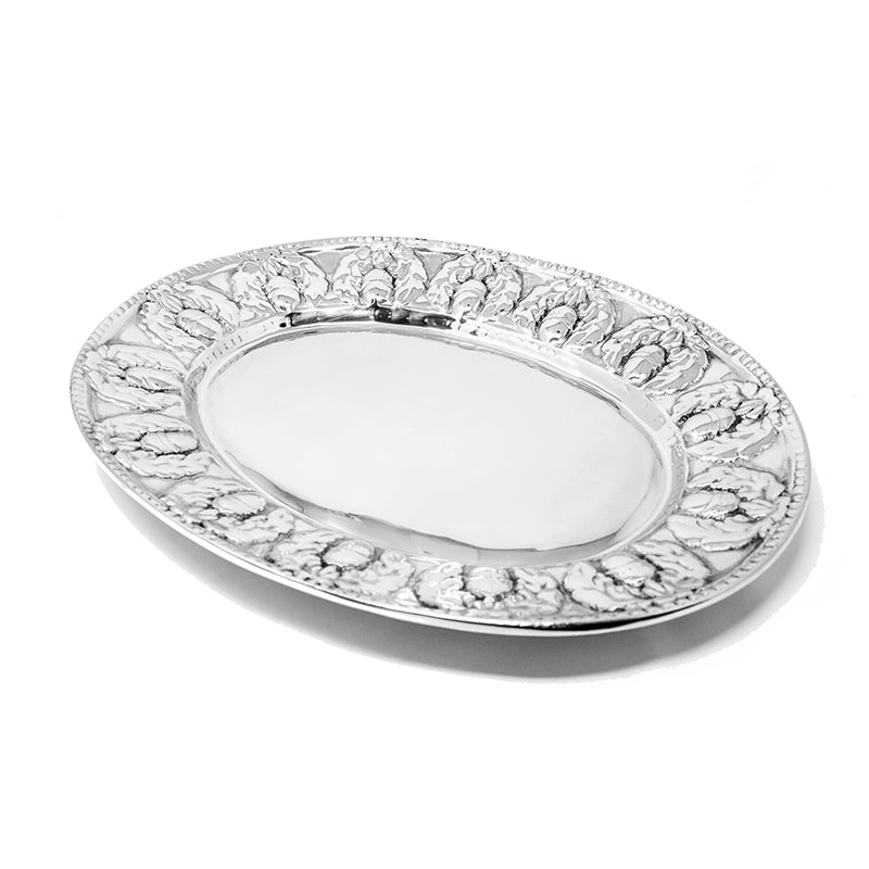 OVAL HARVEST ACORN PLATTER - Lily Fields Home