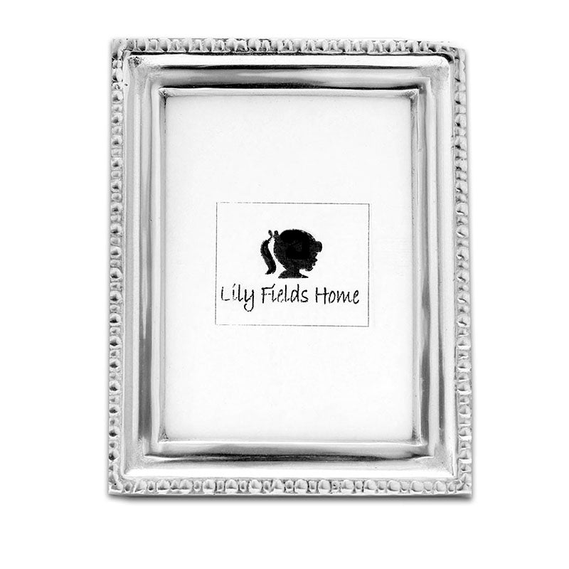 SM FLAT BEADED FRAME - Lily Fields Home