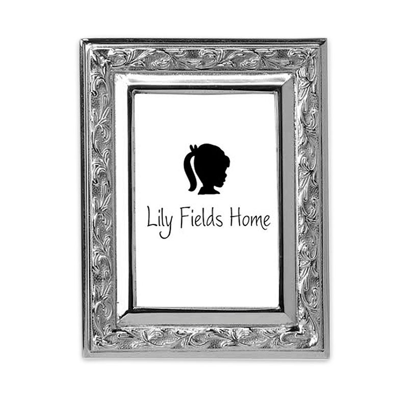SM LEAF DESIGN FRAME - Lily Fields Home