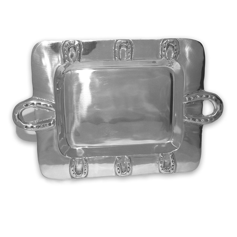 SM RECTANGLE HORSESHOE TRAY - Lily Fields Home