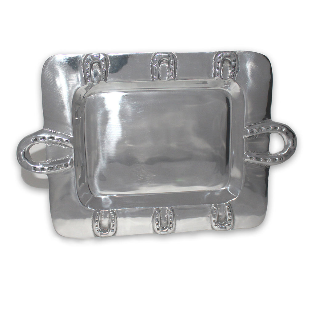 LG RECTANGLE HORSESHOE TRAY - Lily Fields Home