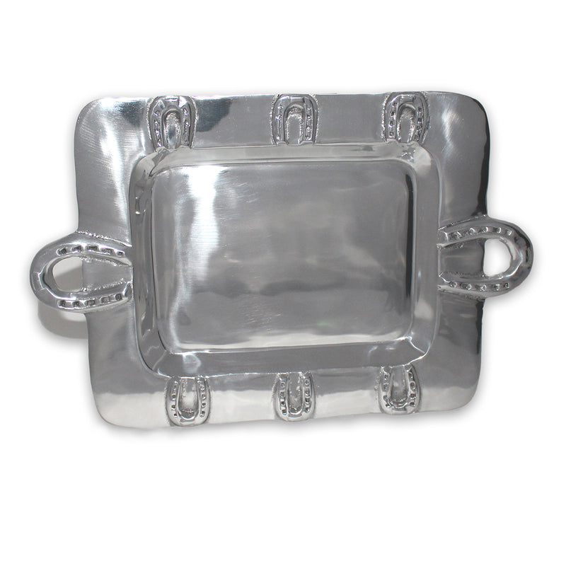 MD RECTANGLE HORSESHOE TRAY - Lily Fields Home