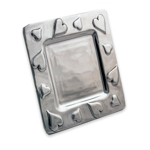 SQUARE HEART TRAY - Lily Fields Home