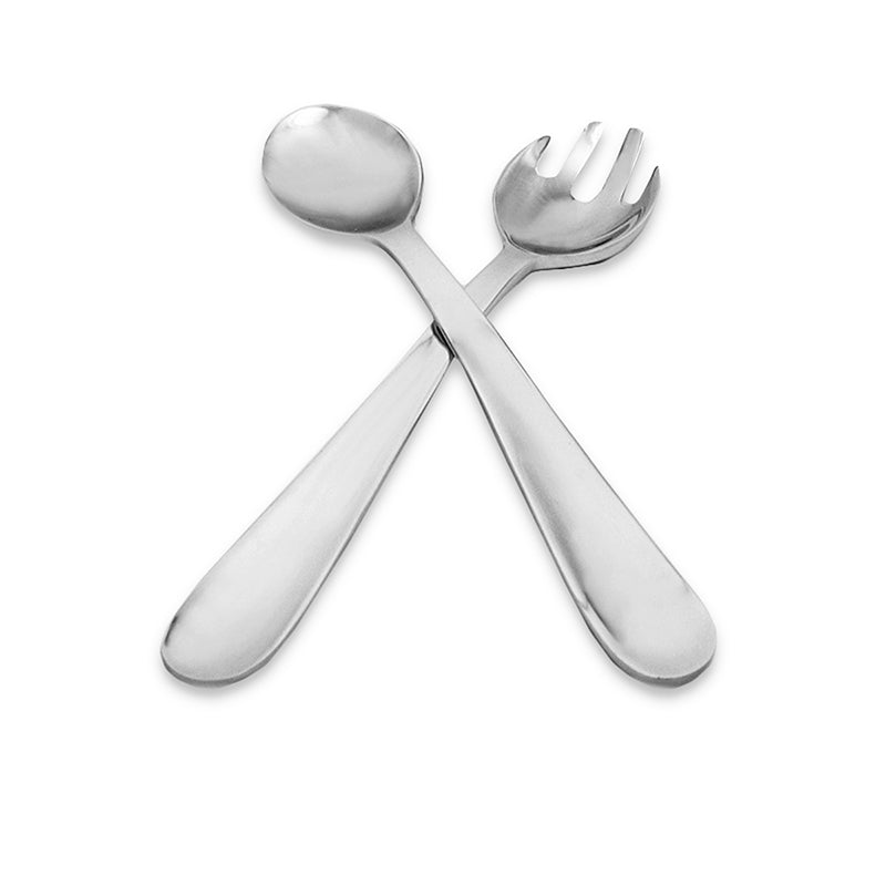 SMOOTH SALAD SERVERS - Lily Fields Home
