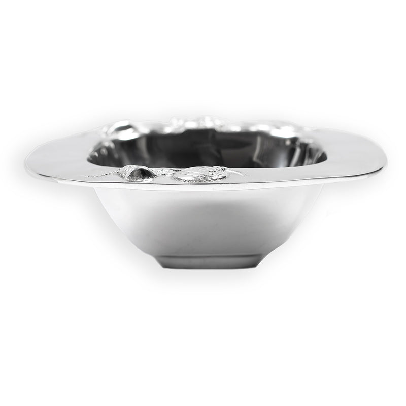 SQUARE HOLIDAY ORNAMENT BOWL
