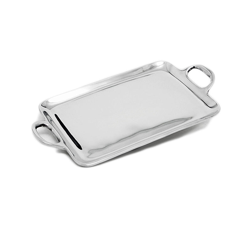SM SMOOTH TRAY W/ HANDLES - Lily Fields Home
