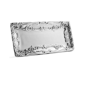 SM SCROLL EDGE TRAY - Lily Fields Home