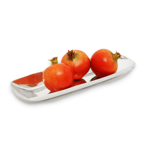 SM SMOOTH OVAL CRACKER TRAY - Lily Fields Home