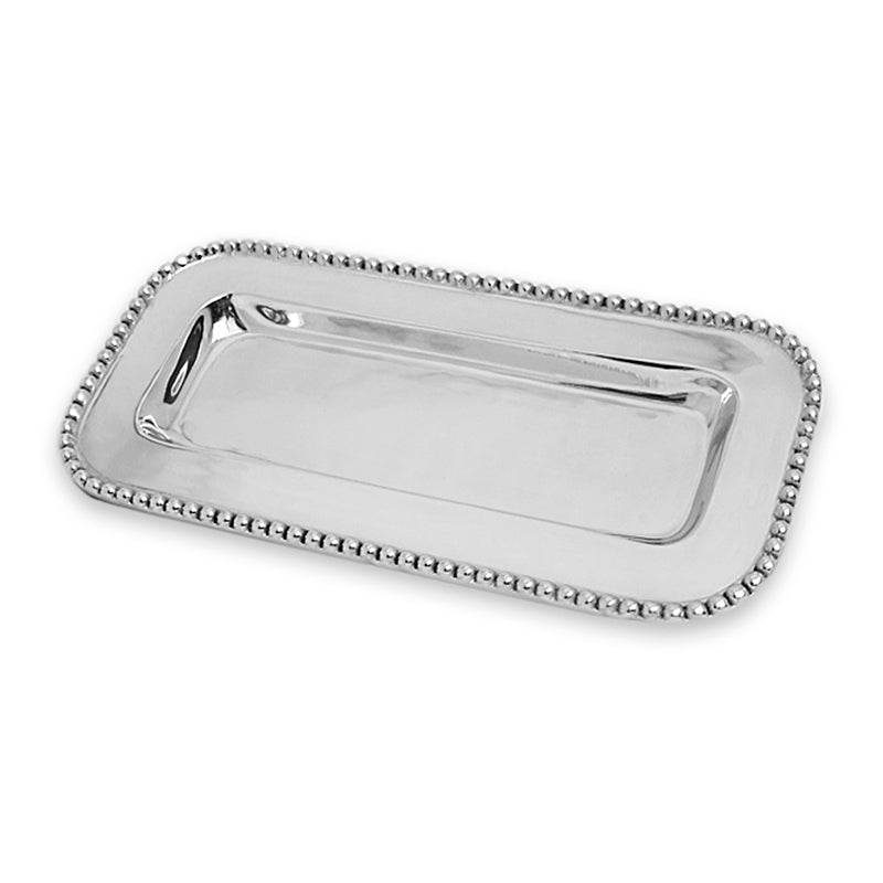 BEADED EDGE BREAD TRAY - Lily Fields Home