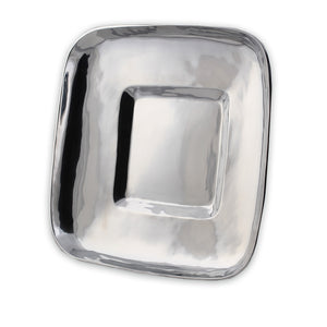 RECTANGLE WIDE RIMMED PLATTER - Lily Fields Home