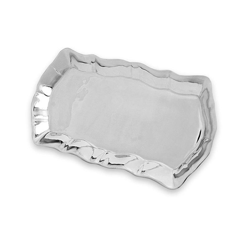 MD SCALLOP EDGE TRAY - Lily Fields Home