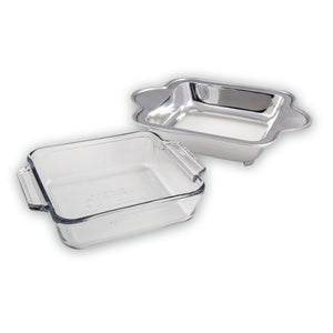 SQUARE SMOOTH CASSEROLE HOLDER - Lily Fields Home