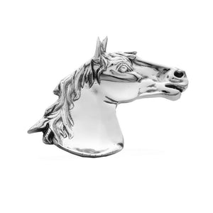 LG HORSE HEAD TRAY - Lily Fields Home
