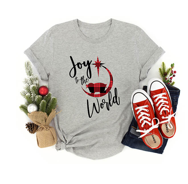 Joy to the World Classic Fit Tee