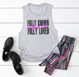 Fully Known Women's Flowy Muscle Tank