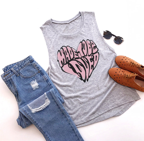 Made to Be Loved Women's Muscle Tank