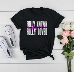 Fully Known Classic Fit Tee- White Graphic