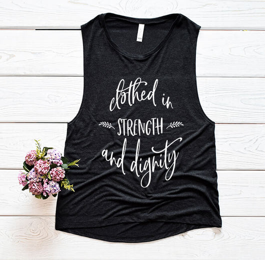 Proverbs 31 Women's Muscle Tank