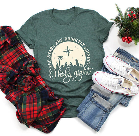 O Holy Night Classic Fit Tee