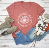 Fearfully & Wonderfully Made Tee- White Graphic