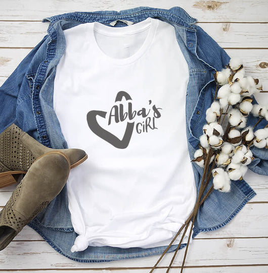 Abba's Girl Classic Fit Tee