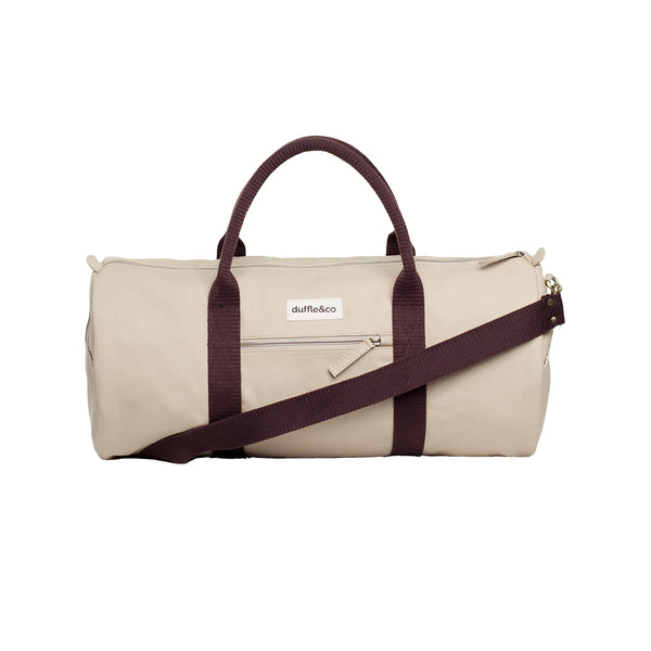 Rhodes duffle front Duffle and Co